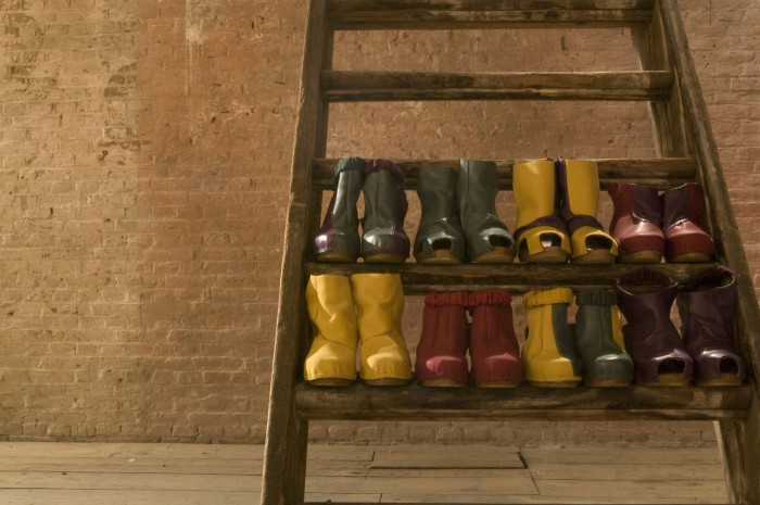 Clogs / Collaboration with LEW AW 2011