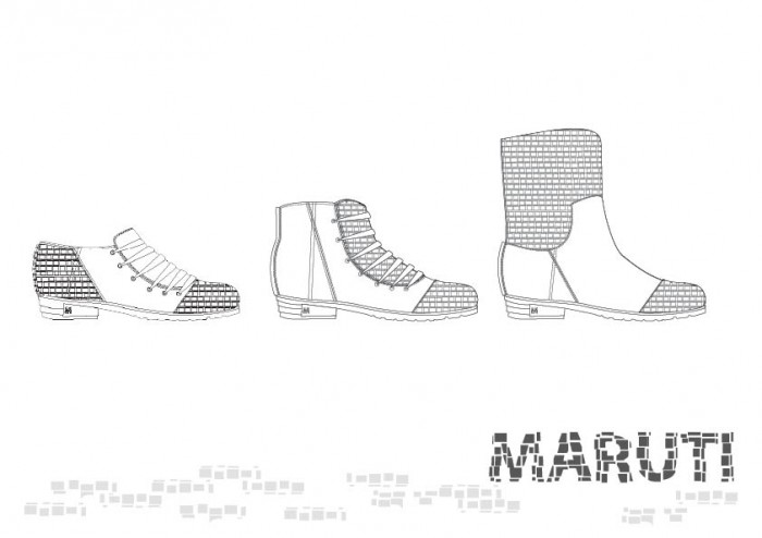 Maruti / MADE OF BRICKS SS2012
